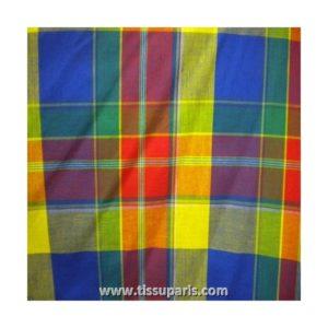 Tissu coton madras MDS05