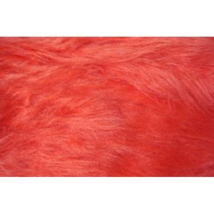 Tissu Fausse Fourrure rouge FAL09