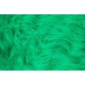 Tissu Fausse Fourrure vert FAL10