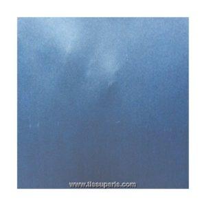 Tissu satin bleu ST02