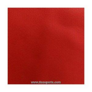 Tissu georgette rouge GG06