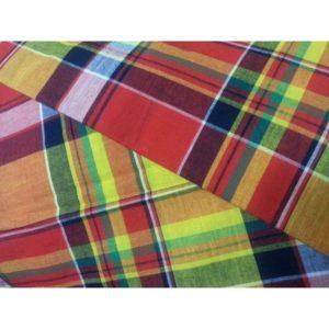 Tissu coton madras MDS09