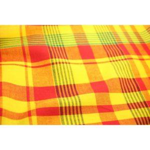 Tissu coton madras MDS019