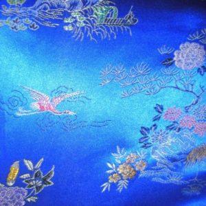 Tissu chinois Blue CHb03