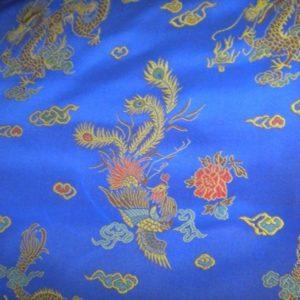 Tissu Chinois Blue CHb02
