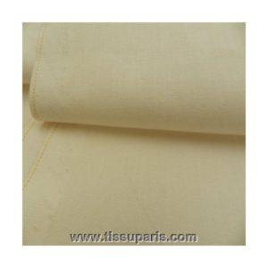 Tissu coton blonc casse CT15