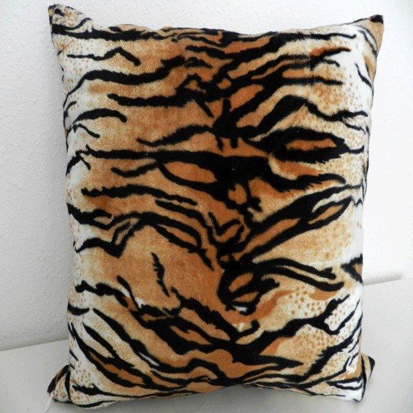 housse de coussin 40*40 tiger marron HC03