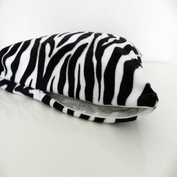 housse de cousin zebre branc HC01
