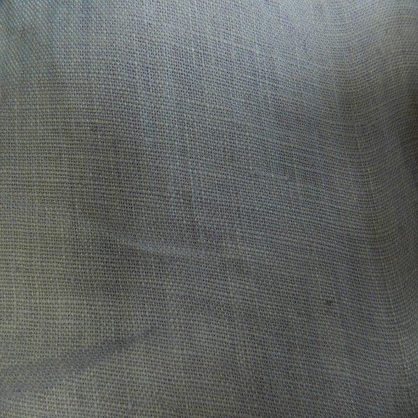 Tissu lin gris LIN03
