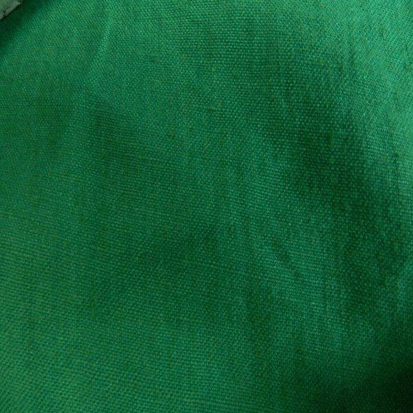 Tissu lin vert LIN06