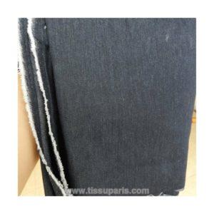 Tissu jean uni bleu TJ01