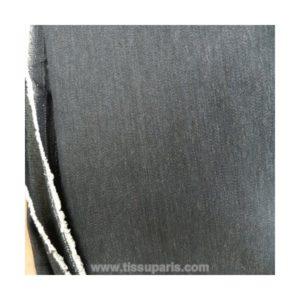 Tissu jean uni bleu TJ02