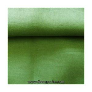 Tissu lin vert LIN15