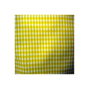 Tissu Vichy jaune Petits VCP05