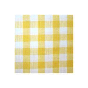 tissu vichy jaune moyens VCM05
