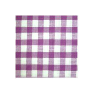 Tissu vichy violet moyens VCM06
