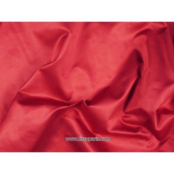 Satin de Soie (Pure Soie) RS-10106-3 rouge