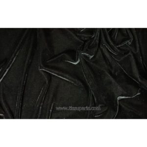 Velours stretch noir 1719-1