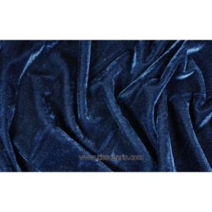 Velours stretch bleu marine 1719-2