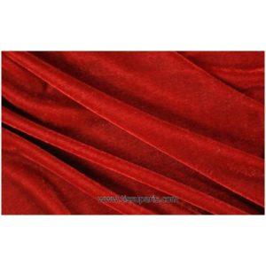 Velours stretch rouge orange 1719-9