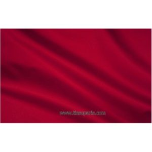 Satin de coton stretch rouge-cerise 501537-18