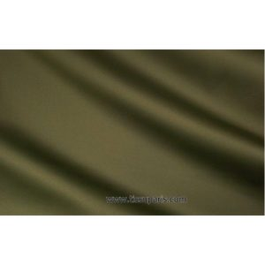 Satin de coton stretch kaki foncé 501537-10