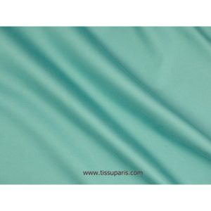 Satin de coton stretch turquoise 501537 -073