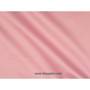Satin de coton stretch vieux rose 501537 -075