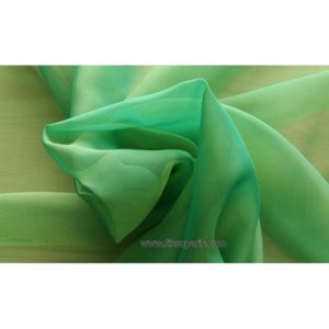 Mousseline Cangiante vert 221081