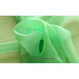 Mousseline Cangiante vert 221082
