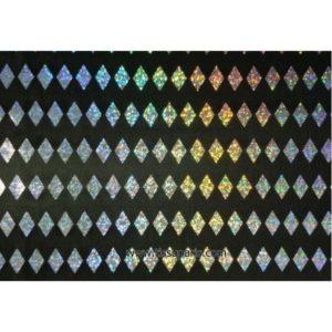 Tissu imprimé losanges noir 5625-3