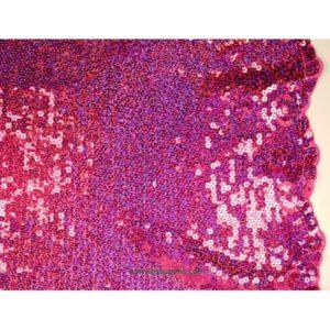 Tissu Pailleté bords arqués rose 5274-11 125cm