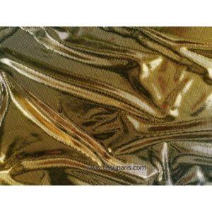 Tissu stretch imprimé doré 5278-1 145cm