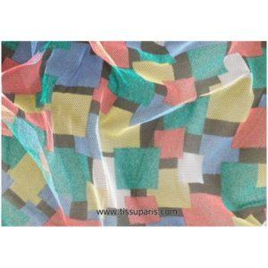 Tulle multicolore SOPO-0567 140cm