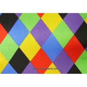 Satin polyester losanges 5190-1 150cm