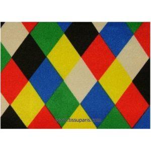 Satin polyester losanges 5192-1 150cm