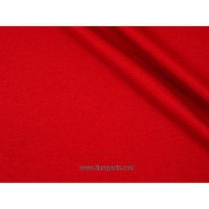 Tissu jersey romanite rouge 150cm