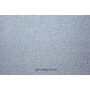 Tissu éponge bleu clair uni 150cm 1437-12