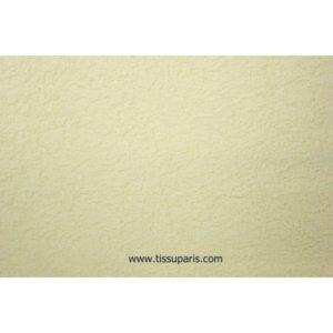 Tissu éponge uni écru 150cm 1437-11