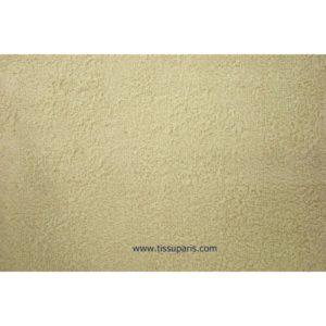 Tissu éponge beige uni 150cm 1437-10