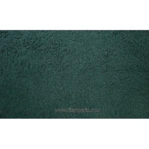 Tissu éponge vert foncé uni 150cm 1437-19