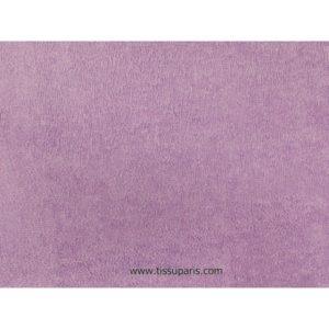Tissu éponge lilas uni 150cm 1437-21