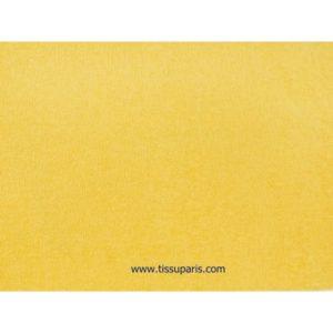 Tissu éponge jaune uni 150cm 1437-22