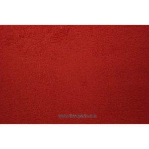 Tissu éponge uni rouge 150cm 1437-4