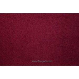 Tissu éponge uni bordeaux 150cm 1437-8