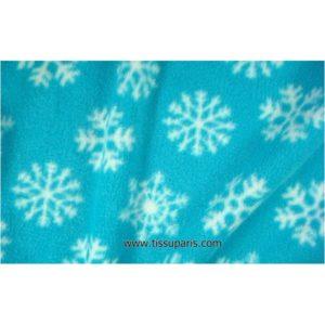 Tissu polaire cristal de glace turquoise 150cm 901433-5