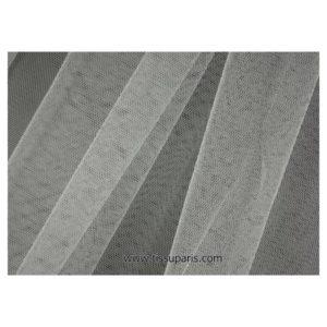 Tissu tulle doux nylon blanc 150cm 5433-1