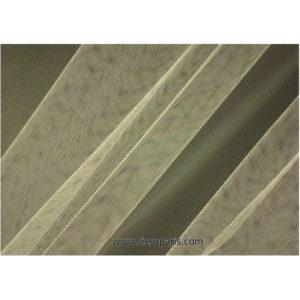Tissu tulle doux nylon écru 150cm 5433-24