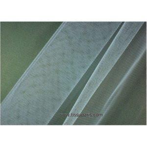 Tissu tulle doux nylon bleu clair 150cm 5433-6