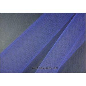 Tissu tulle doux nylon bleu 150cm